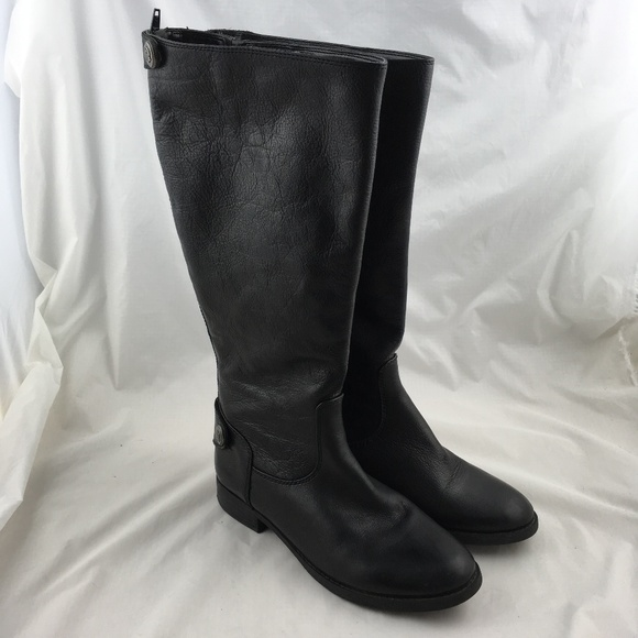 ac3ed4dec8b Arturo Chiang Shoes - Riding boots knee high black leather wide calf zip
